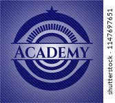 academy with jean texture | Shutterstock .eps vector #1147697651