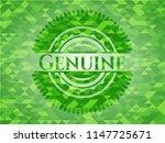 genuine realistic green mosaic... | Shutterstock .eps vector #1147725671