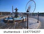 paris  france may 06  2018 ... | Shutterstock . vector #1147734257
