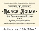 """black house"". original... 