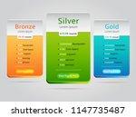host pricing for plan website... | Shutterstock .eps vector #1147735487