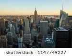 manhattan   new york city   usa.... | Shutterstock . vector #1147749227