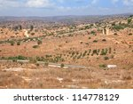 view on biblical landscape from ... | Shutterstock . vector #114778129