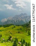 italian dolomites landscape.... | Shutterstock . vector #1147791467