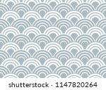 the geometric pattern with wavy ... | Shutterstock .eps vector #1147820264