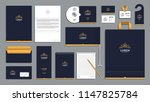 corporate identity branding... | Shutterstock .eps vector #1147825784