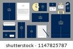 corporate identity branding...   Shutterstock .eps vector #1147825787