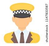 human avatar in official... | Shutterstock .eps vector #1147833587