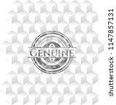genuine grey badge with... | Shutterstock .eps vector #1147857131