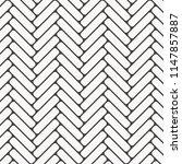 herringbone pattern. rectangles ... | Shutterstock .eps vector #1147857887