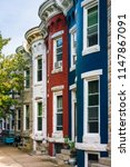 Colorful Row Houses In Hampden  ...
