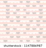 doodle geometric vector pattern....   Shutterstock .eps vector #1147886987