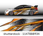 car wrap design vector  truck... | Shutterstock .eps vector #1147888934