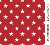 seamless stars pattern vector  | Shutterstock .eps vector #1147895747