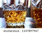 alcohol taste and drink concept ... | Shutterstock . vector #1147897967
