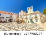 cascais  portugal   august 6 ... | Shutterstock . vector #1147900277