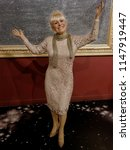 blackpool  january 14  madame... | Shutterstock . vector #1147919447