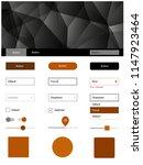 dark orange vector material...