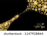 happy new year 2019  elegant... | Shutterstock .eps vector #1147928864