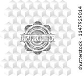 disappointing retro style grey...   Shutterstock .eps vector #1147929014