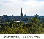 scenic  daytime  cityscape view ... | Shutterstock . vector #1147937987