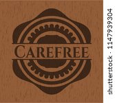 carefree wood icon or emblem | Shutterstock .eps vector #1147939304