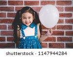 Child little cute girl smile...