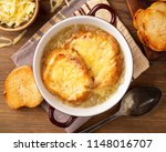 french onion soup with croutons ...