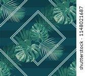 emerald forest rhombus vector... | Shutterstock .eps vector #1148021687