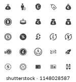money icons  money cash icons... | Shutterstock .eps vector #1148028587