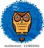 owl | Shutterstock .eps vector #114803461