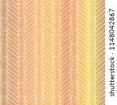 maori tribal pattern vector... | Shutterstock .eps vector #1148042867