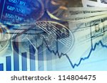 finance system concept. | Shutterstock . vector #114804475