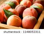 bunch of ripe freshly picked... | Shutterstock . vector #1148052311