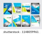 modern business brochure ...   Shutterstock .eps vector #1148059961