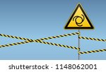 safety sign. caution   danger ... | Shutterstock .eps vector #1148062001