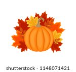 autumn design with autumn... | Shutterstock .eps vector #1148071421