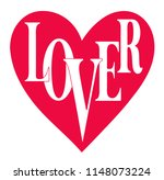 heart graphic with slogan.... | Shutterstock .eps vector #1148073224