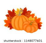 autumn design with autumn... | Shutterstock .eps vector #1148077601