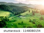 amazing landscape view of... | Shutterstock . vector #1148080154