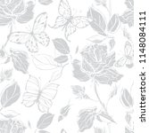 seamless vector pattern with... | Shutterstock .eps vector #1148084111