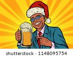 christmas and new year. man... | Shutterstock .eps vector #1148095754