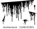 blood drip cut set | Shutterstock .eps vector #1148152301