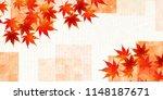 autumn leaves autumn leaves... | Shutterstock .eps vector #1148187671