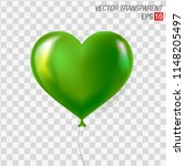 bright green air balloon... | Shutterstock .eps vector #1148205497