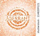 aberrant orange tile background ...   Shutterstock .eps vector #1148209121