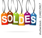 sic colored hang tags with sale ...   Shutterstock .eps vector #1148215817