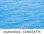 blue water sea wave texture... | Shutterstock . vector #1148216774