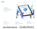 user guide book  download ... | Shutterstock .eps vector #1148255651