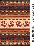 persian carpet  tribal vector...   Shutterstock .eps vector #1148264261